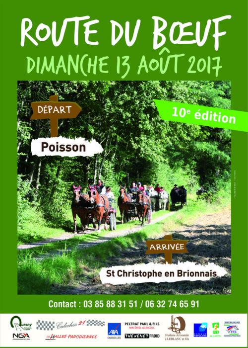 Route du Boeuf, de Poisson à Saint Christophe-en-Brionnais (71)