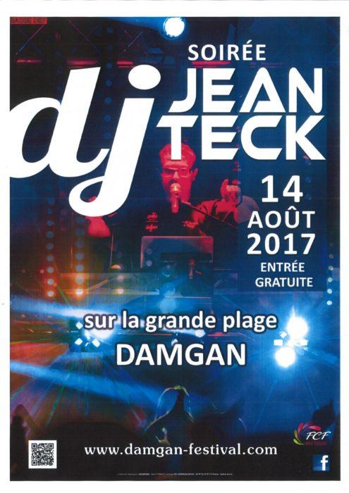SOIREE DJ JEAN TECK DAMGAN