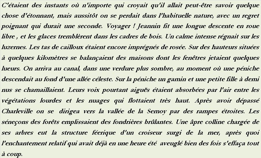ANDRÉ DHÔTEL LE VILLAGE PATHÉTIQUE