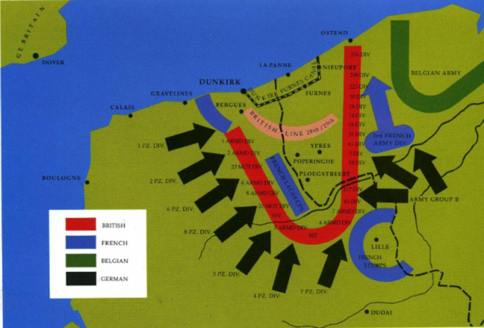 opération dynamo 1940