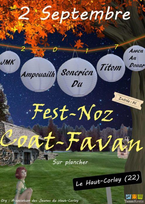 fest-noz Coat Favan