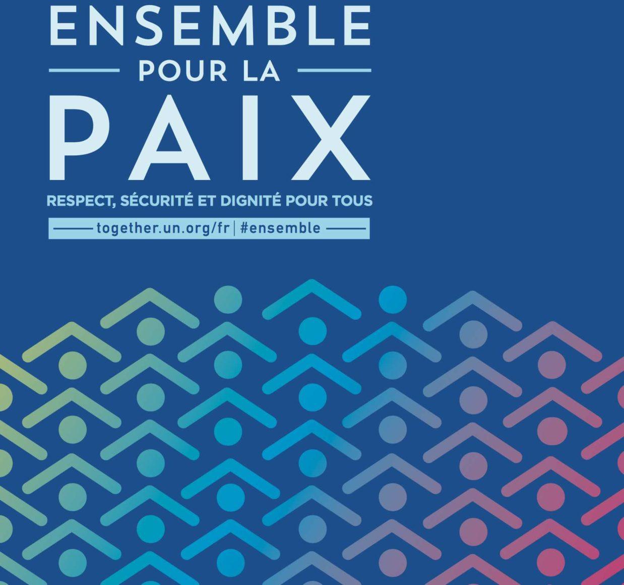 JOURNÉE INTERNATIONALE DE LA PAIX LE 21 SEPTEMBRE