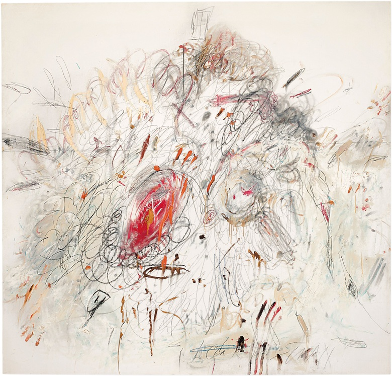 Cy Twombly Leda and the Swan