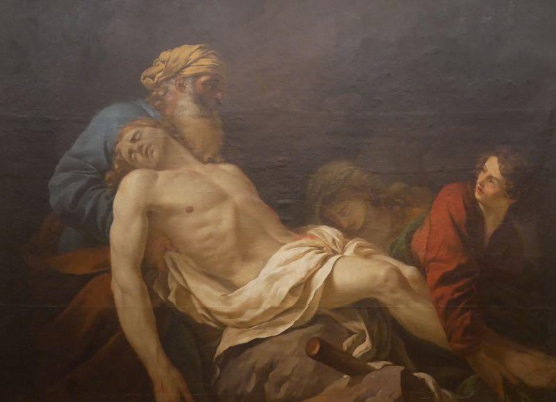 La Mise au Tombeau, Jean Jacques Lagrenée