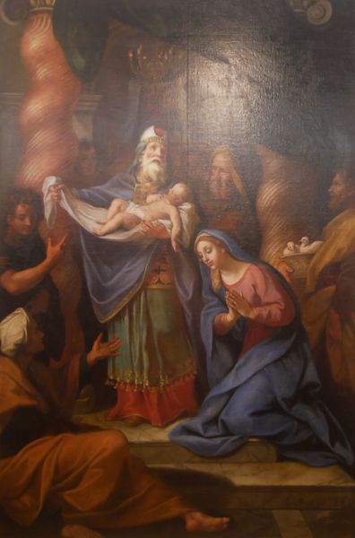 Louis de Boullogne, la Présentation au Temple