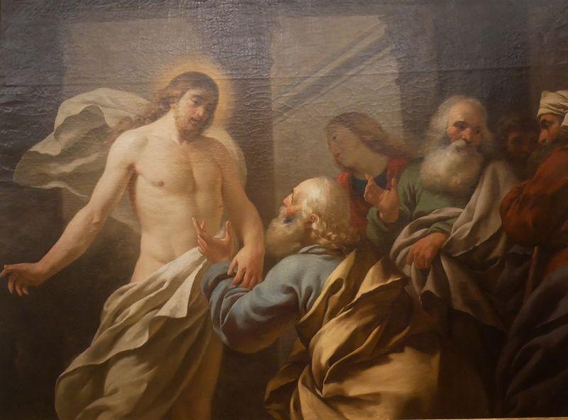 Jean Jacques Lagrenée, l'Incrédulité de Saint Thomas