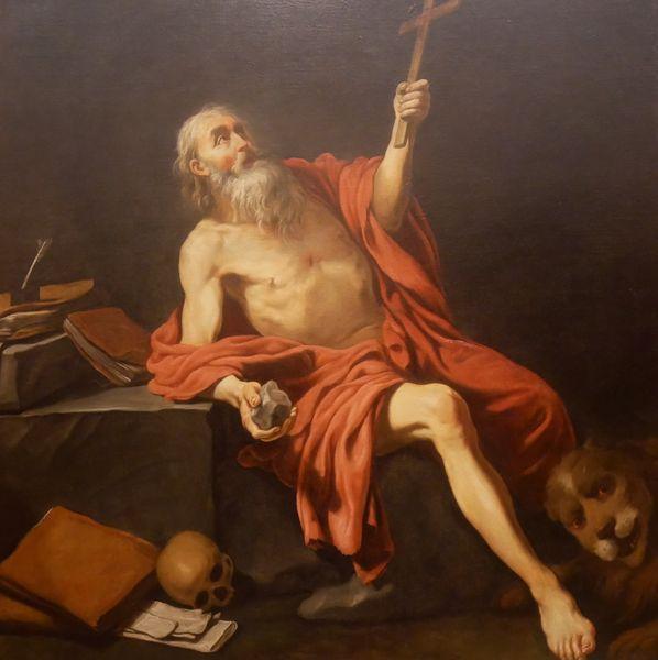 Claude Vignon, Saint Jérôme dans le désert