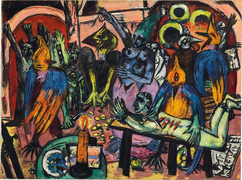 Max Beckmann Holle der vogel