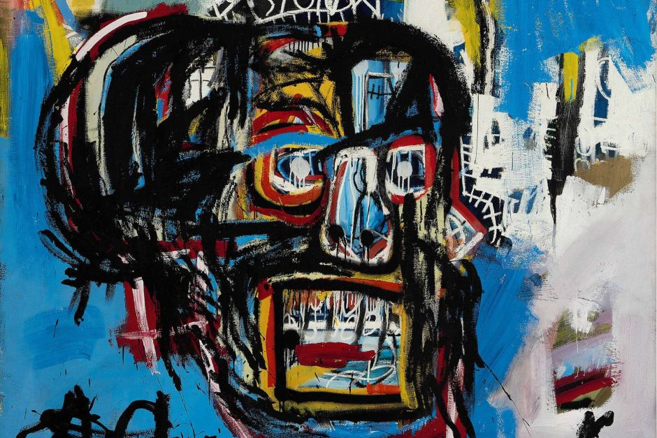 Untilted Jean Michel-Basquiat