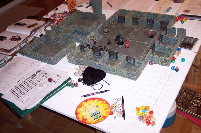 Donjons et Dragons papier