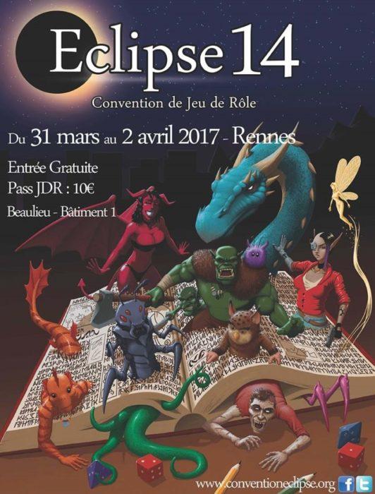 Convention jeu de rôle Eclipse Rennes