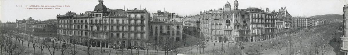 Paseo de gracia Barcelone