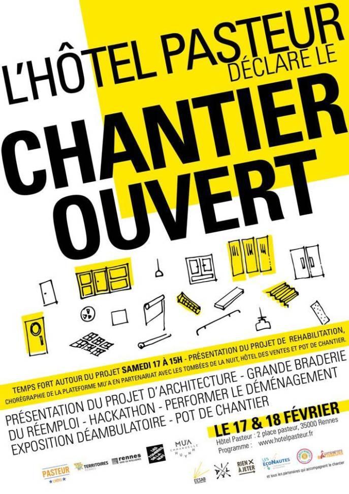 L'HOTEL PASTEUR DECLARE LE CHANTIER OUVERT