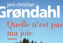 Quelle n'est pas ma joie Jens-Christian Grondahl