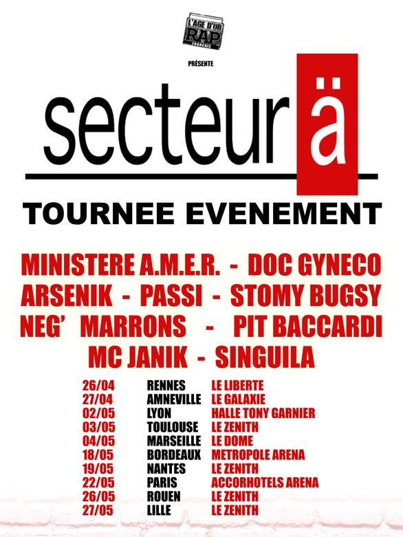 concert secteur a