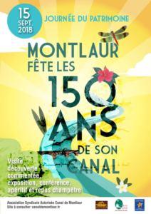 ANNIVERSAIRE DES 150 ANS D'EXISTENCE DU CANAL D'ARROSAGE DE MONTLAUR