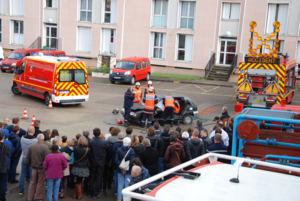 Exercices de secours à personne et de secours routier