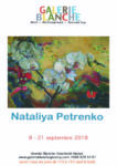 Exposition des oeuvres de l'artiste Nataliya Petrenko