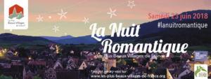 LA NUIT ROMANTIQUE DES PLUS BEAUX VILLAGES DE FRANCE A SAINT-ANTOINE-L'ABBAYE (ISERE)