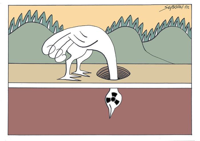 Le dessinateur Serguei s'expose à Issy
