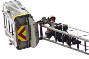 Manœuvre avec l'Echelle Pivotante Automatique