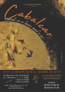 SPECTACLE CABALCAR, A PRIAIRES (79)