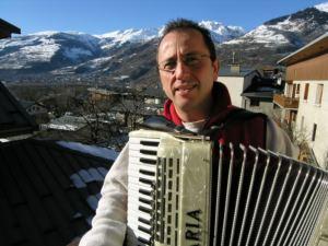 Christophe et son accordéon