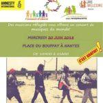 Concert de réfugiés - Journée mondiale des réfugiés