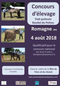 CONCOURS D'UTILISATION, A ROMAGNE (86)
