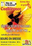 CONFERENCE SECURITE ET SURETE NUCLEAIRE : UNE REALITE OU UN MYTHE ?