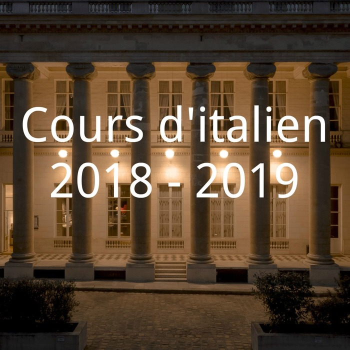 COURS DE LANGUE ITALIENNE