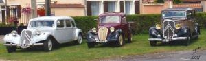 Découverte du patrimoine en véhicules d'époque