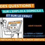 Des questions sur le CESU et l'emploi à domicile ? - Rendez-vous particuliers Emploi