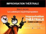 En juin la Ludo Impro se déchaîne à Boulogne-Billancourt