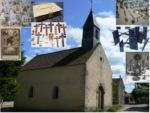 Exposition d'objets religieux populaires du quotidien