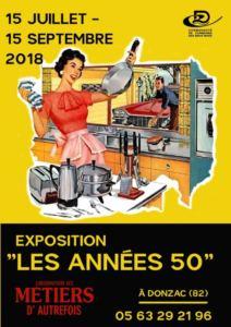EXPOSITION LES ANNEES 50