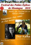 FESTIVAL DES PETITES EGLISES DE MONTAGNE : TRIBULATIONS D'UN VIOLON ET D'UN BASSON