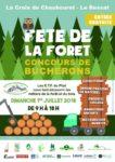 FETE DE LA FORET, A LA CROIX DE CHAUBOURET (42)
