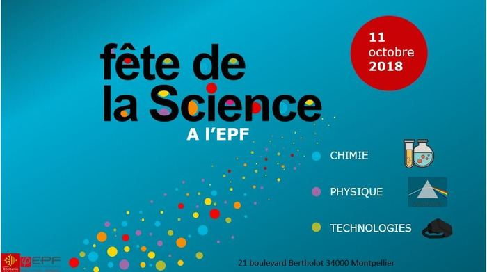 FETE DE LA SCIENCE A L'EPF MONTPELLIER