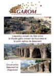 L'aqueduc romain du Gier entre Lugdunum musée et théâtre romains et la maison de l'aqueduc de Beaunant.