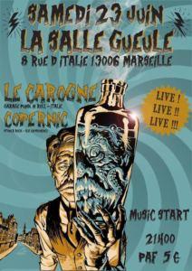 Le Carogne + Copernic