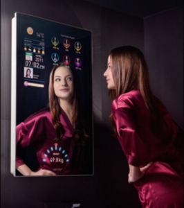 Miroir connecté :