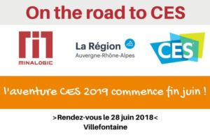On the road to CES : l'aventure CES 2019 commence fin juin !