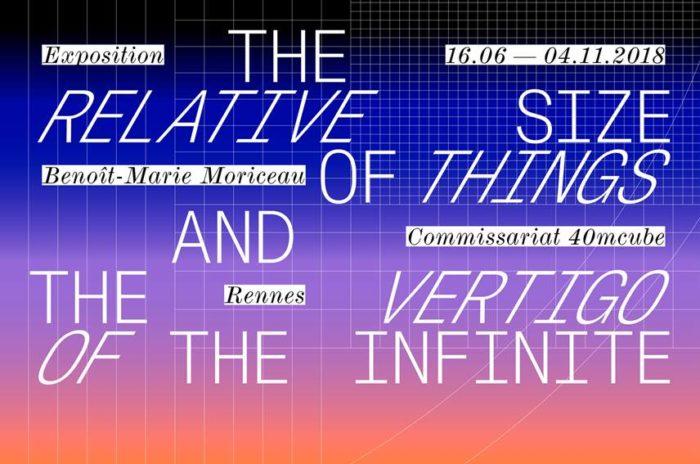 The Relative Size of ThingsThe Vertigo of The Infinite
