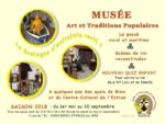 English guided tour in the museum of Folk Arts and Traditions Musée d'Art et Traditions populaires
