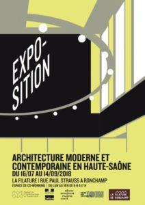 Architecture contemporaine en HauteSaône