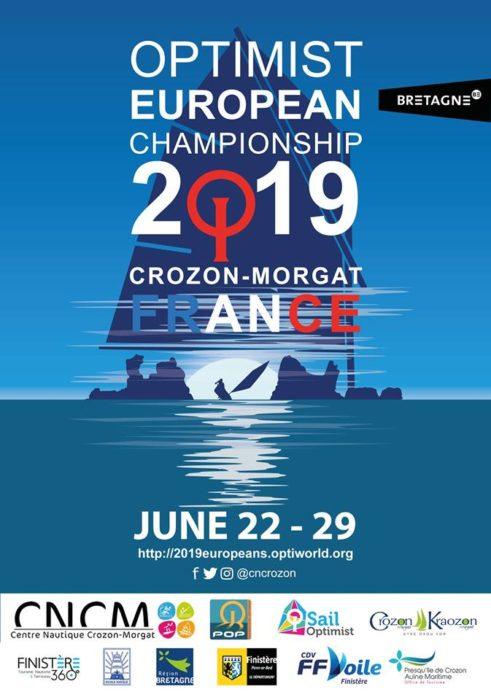 Championnat d'Europe d'Optimist 2019 Morgat
