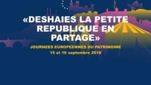 DESHAIES la petite république en partage Exposition vivante de l'histoire de DESHAIES