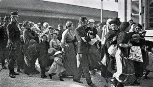 EMILIENNE 1917. ITINERAIRE D'UNE JEUNE FRANÇAISE REFUGIEE DE LA PREMIERE GUERRE MONDIALE.
