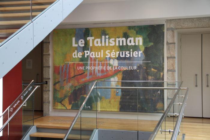 Exposition 2018 Le Talisman de Paul Sérusier musée de Pont Aven